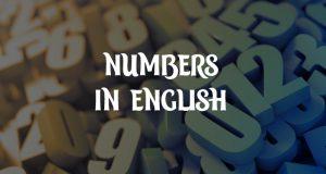 Numbers in English - как звучат разные форматы чисел